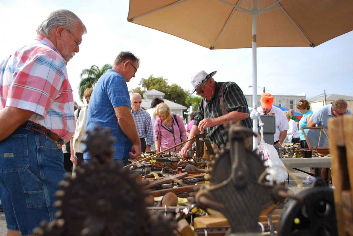 Antique Fair in Arcadia Florida - 4th Saturday of every month