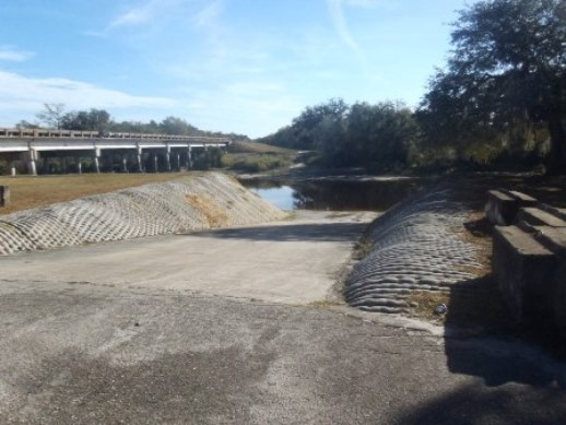 Nocatee Boat Ramp Arcadia Florida DeSOto County